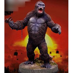 キングコング:髑髏島の巨神 コング 2.0 ソフビ スタチュー (デラックス版) 完成品フィギュア