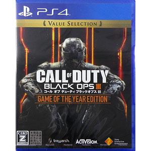 PS4 コール オブ デューティ ブラックオプス III ゲーム オブ ザ イヤー エディション Value Selection