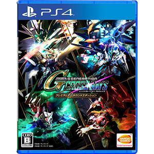 【特典】PS4 SDガンダム ジージェネレーション クロスレイズ プレミアムGサウンドエディション