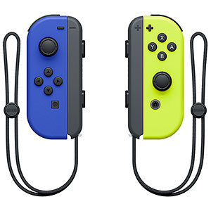 Nintendo Switch用 Joy-Con(L) ブルー/(R) ネオンイエロー