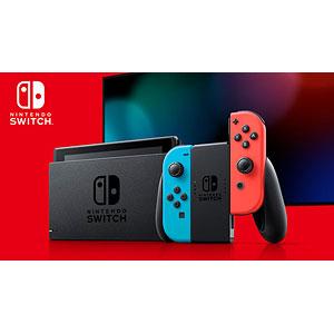 Nintendo Switch Joy-Con(L) ネオンブルー/(R) ネオンレッド (本体)