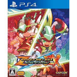 【特典】PS4 ロックマン ゼロ&ゼクス ダブルヒーローコレクション
