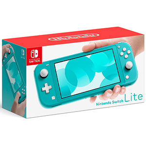 【特典】Nintendo Switch Lite ターコイズ