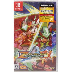 【特典】Nintendo Switch ロックマン ゼロ&ゼクス ダブルヒーローコレクション