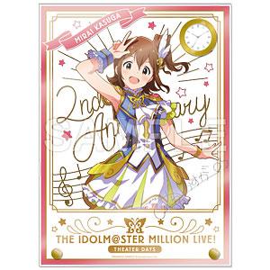 アイドルマスター ミリオンライブ! 時計付アクリルアート 春日未来 ルミエール・パピヨン ver.