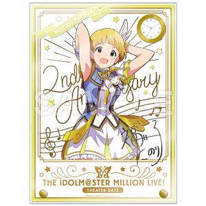 アイドルマスター ミリオンライブ! 時計付アクリルアート 福田のり子 ルミエール・パピヨン ver.
