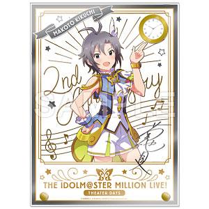 アイドルマスター ミリオンライブ! 時計付アクリルアート 菊地真 ルミエール・パピヨン ver.