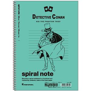 名探偵コナン ノート(B5サイズ) 怪盗キッド