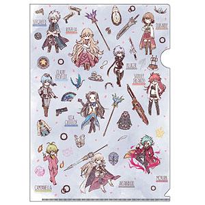 クリアファイル「英雄伝説 閃の軌跡IV -THE END OF SAGA-」03/キャラクター&モチーフ集合2(グラフアート)