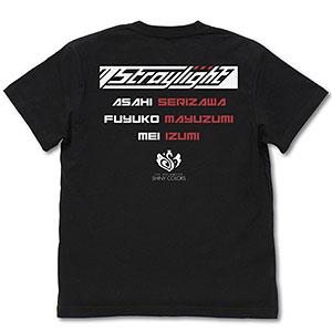 アイドルマスター シャイニーカラーズ 283プロ ストレイライト Tシャツ/BLACK-S