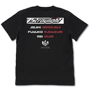 アイドルマスター シャイニーカラーズ 283プロ ストレイライト Tシャツ/BLACK-XL