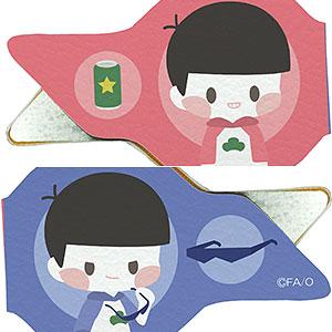 レザーペンクリップ「おそ松さん」01/おそ松&カラ松(ぽすてる)