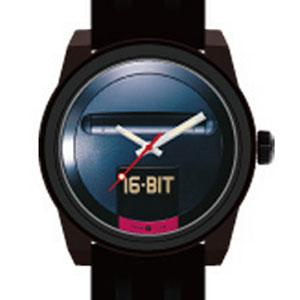 MEGA DRIVE 16-BIT Watch (メガドライブ 16ビット 腕時計)[GAMES GLORIOUS]
