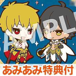 【あみあみ限定特典】ラバーマスコット バディコレ Fate/Grand Order 6個入りBOX
