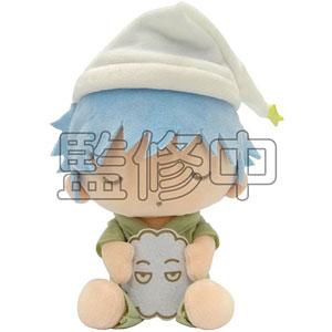 銀魂×Sanrio characters YOROZUYA×TSおやすみ柄むにゅぐるみS(銀時)