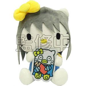 銀魂×Sanrio characters SADA AND ELLY×KTおやすみ柄むにゅぐるみS(桂)