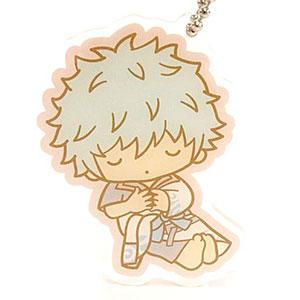 銀魂×Sanrio characters YOROZUYA×TS おやすみ柄とぅるるんアクリルキーホルダー(銀時)