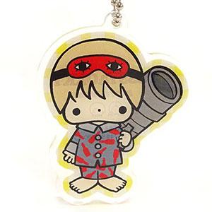銀魂×Sanrio characters TOSSY AND OKKY×PJ おやすみ柄とぅるるんアクリルキーホルダー(沖田)