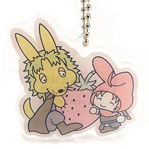 銀魂×Sanrio characters HARUSAME×MM おやすみ柄とぅるるんアクリルキーホルダー