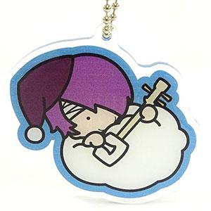 銀魂×Sanrio characters KIHEITAI×GO おやすみ柄とぅるるんアクリルキーホルダー(高杉)