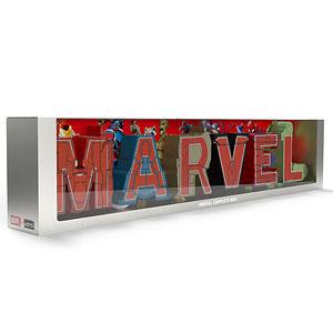 超変換!!もじバケる MARVEL Complete Box (食玩)