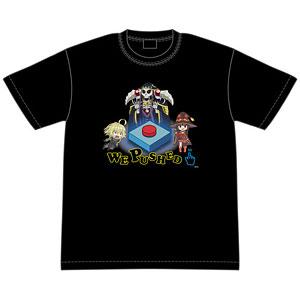 異世界かるてっと WE PUSHED Tシャツ M