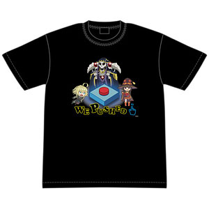 異世界かるてっと WE PUSHED Tシャツ L