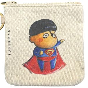 DC x b.wing(B.ウイング) コイン バッグ スーパーマン