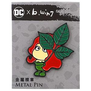DC x b.wing(B.ウイング) メタルピン ポイズン・アイビー