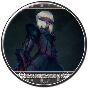 劇場版「Fate/stay night [Heaven's Feel]」 缶バッジ デザイン08(セイバーオルタ/A)