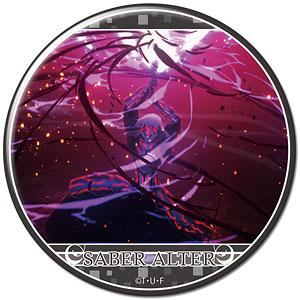 劇場版「Fate/stay night [Heaven's Feel]」 缶バッジ デザイン10(セイバーオルタ/C)