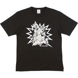 七つの大罪 戒めの復活 大罪 Tシャツ(ブラック) ユニセックス XL