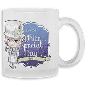 ねんどろいどぷらす アイドリッシュセブン グラスマグカップ 千 White Special Day! Ver.