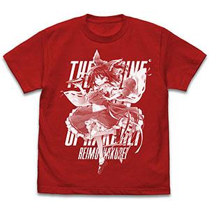 東方Project 博麗霊夢 えれっとVer. Tシャツ/RED-XL