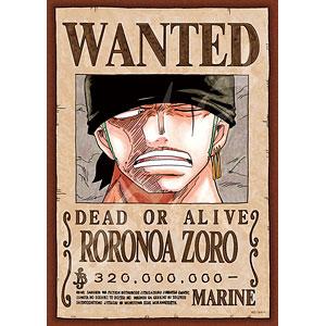 ジグソーパズル ワンピース 手配書『ロロノア・ゾロ』 208ピース(208-035)