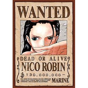 ジグソーパズル ワンピース 手配書『ニコ・ロビン』 208ピース(208-040)