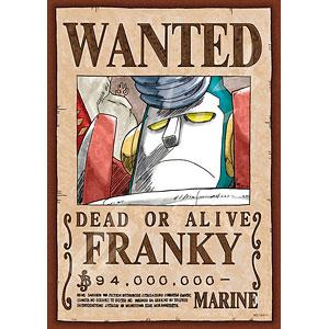ジグソーパズル ワンピース 手配書『フランキー』 208ピース(208-041)