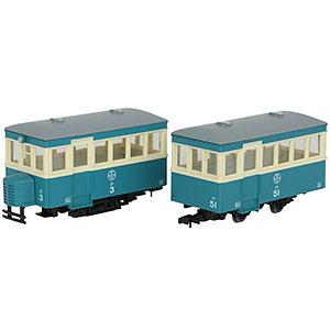 鉄道コレクション ナローゲージ80 猫屋線 ジ3・ハ51新塗装