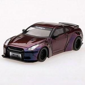 1/64 LB★WORKS Nissan GT-R (R35) タイプ1 リアウイング バージョン1 マジックパープル (右ハンドル)