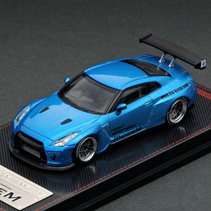 1/64 PANDEM R35 GT-R Blue Metallic