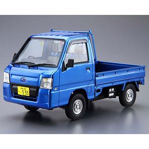 ザ・モデルカー No.4 1/24 スバル TT2 サンバートラック WRブルーリミテッド'11 プラモデル