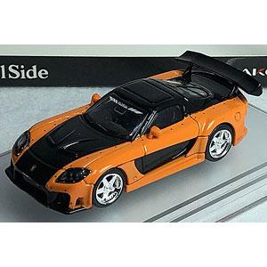 1/64 Veilside 7 FD3S Fortune オレンジ/ブラック[ピーコ]