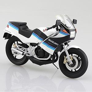 1/12 完成品バイク SUZUKI RG250Γ ブルー×ホワイト