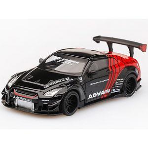 1/64 LB★WORKS Nissan GT-R R35 タイプ2 リアウイング バージョン 3 ADVAN