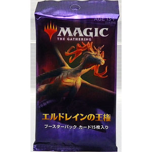 マジック:ザ・ギャザリング エルドレインの王権 ブースターパック 日本語版 パック
