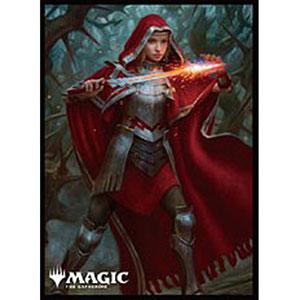 マジック:ザ・ギャザリング プレイヤーズカードスリーブ 『エルドレインの王権』 ≪不敵な火花魔導士、ローアン≫ パック