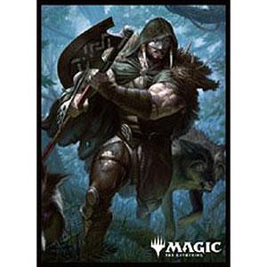 マジック:ザ・ギャザリング プレイヤーズカードスリーブ 『エルドレインの王権』 ≪呪われた狩人、ガラク≫ パック