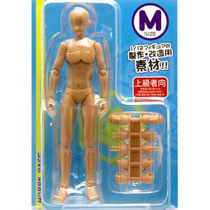 プレミアムパーツコレクション 関節技EX 1/12素材くん Mサイズ 褐色