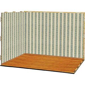ジオラマルームLセット002「洋室-A02」(シール貼付け済)