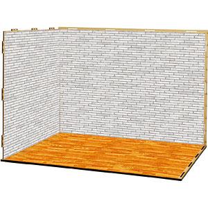 ジオラマルームLセット005「洋室-A05」(シール貼付け済)